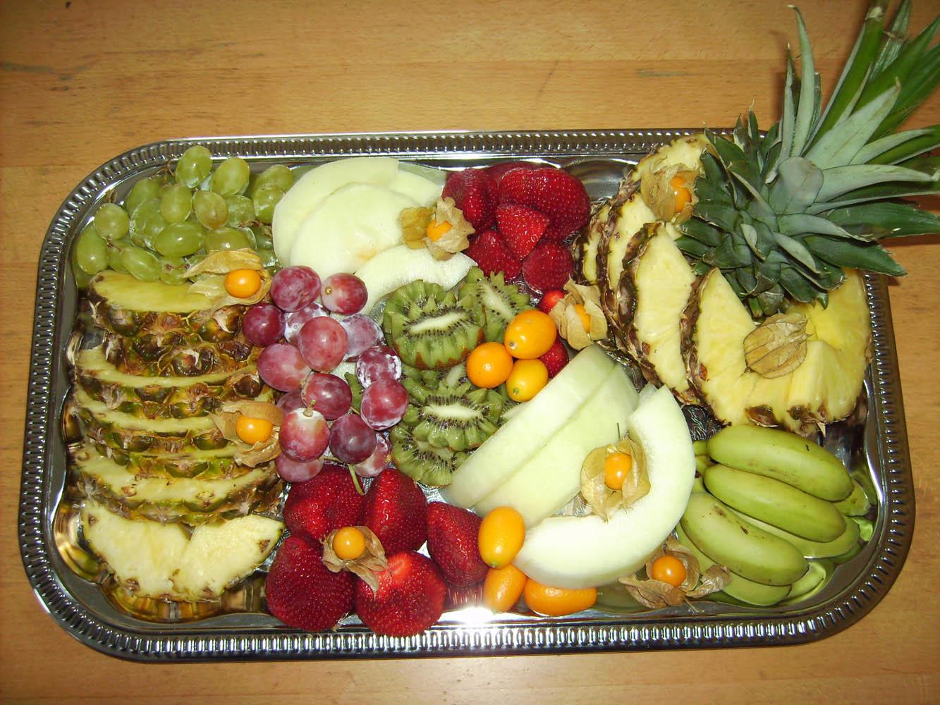 Früchteplatte von Grillmeister Pausch