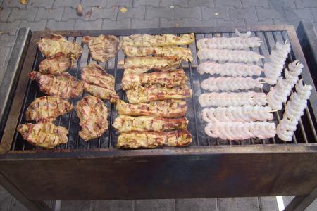 Catering / Partyservice Menü Ansbach mit Grillfleisch