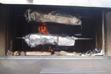 Catering / Partyservice Menü Schwaben mit gegrilltem Spanferkel