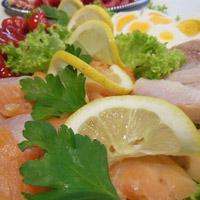 Partyservice Fisch Platten durch Grillmeister Pausch