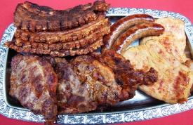 Perfekt gegrilltes Fleisch