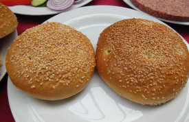 Hamburger Buns von Grillmeister Pausch