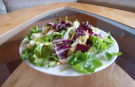 Catering / Partyservice Menü Niederbayern mit grünem Salat