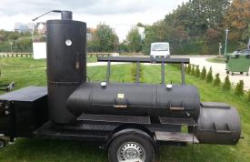Smoker grillen von Grillmeister Pausch