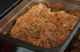 Smoken von Pulled Pork vom Grillmeister Pausch Nürnberg
