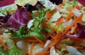 Grüner gemischter Salat